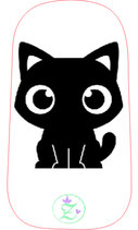 "NEU: Dexcom Sticker ""Blackcat"""