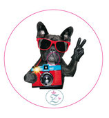"Libre Sticker ""Cool Dog"""