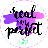 "NEU: Libre Sticker ""Real not Perfect"""