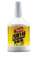 Red Line 75w140 GL5  & 75w140NS Gear Oil