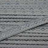 Elastisches Schrägband 12mm dunkelgrau JACQUARD