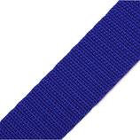 Gurtband 25mm blau PP