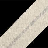 25m Schrägband 20mm natur bw