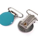 Hosenträger 25mm türkis-blau