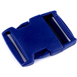 Steckschnalle 30 mm kobalt