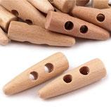 Knebelverschluss 40mm Holz