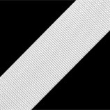 Gurtband 30mm weiß PP