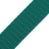 Gurtband 30mm türkis-grün PP