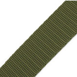 Gurtband 25mm grün-khaki PP