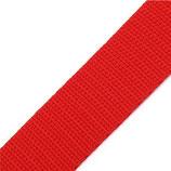 Gurtband 25mm rot PP