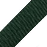 Gurtband 40mm dunkelgrün PP