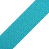 Gurtband 30mm Baumwolle blue curacao