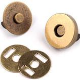 Magnetverschluss 18 mm Alt-Messing