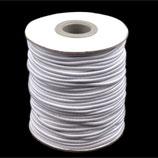 Gummikordel 3,0 mm weiß