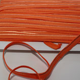 Paspelband 10 mm orange elastisch