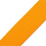 Gurtband 25mm orange-gelb PP
