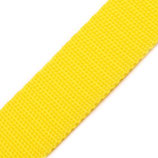 Gurtband 30mm gelb PP