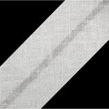 25m Schrägband 20mm weiß bw