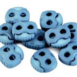 Kordelstopper 20*20mm hellblau
