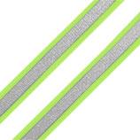 Reflexband auf Gewebe 10mm gelb reflex