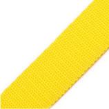 Gurtband 25mm gelb PP