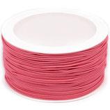 Gummikordel 1,2 mm rosa