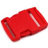 Steckschnalle 30mm  rot