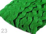 Zackenlitze 5 (9) mm hellgrün