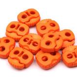 Kordelstopper 20*20mm orange