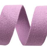 Gurtband 30mm Baumwolle lila
