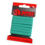 Gummiband 7mm (6,6mm) smaragdgrün
