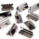 Endstücke 20mm Nickel