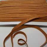Paspelband 10 mm cognac elastisch