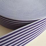 Gummiband 40mm flieder-violett