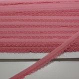 Spitze mit Bogenkannte 12mm rosa