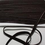 Paspelband 10 mm schokobraun elastisch