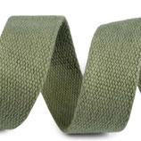 Gurtband 30mm Baumwolle iguana