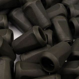 Kordelendstück 12*17mm schwarz-grün