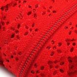 Spitzen-RV endlos, Spirale 3mm poppy red