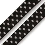 Faltgummi 20mm gepunktet schwarz