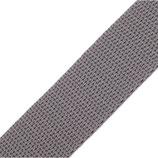 Gurtband 25mm grau PP