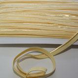 Paspelband 10 mm gelb elastisch