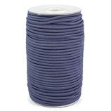 Gummikordel 3,0 mm blau-grau