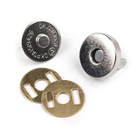 Magnetverschluss 15 mm Nickel