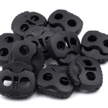 Kordelstopper 20*20mm schwarz