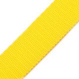 Gurtband 20mm gelb PP