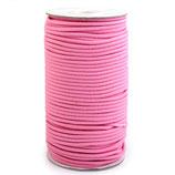 Gummikordel 3,0 mm rosa