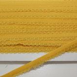 Spitze mit Bogenkannte 12mm gelb