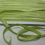 Paspelband 10 mm lime green elastisch