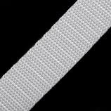 Gurtband 20mm weiß PP